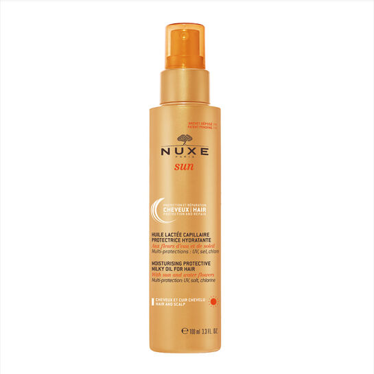 NUXE Sun Moisturising Protective Milky Oil For Hair 100ml 0078003
