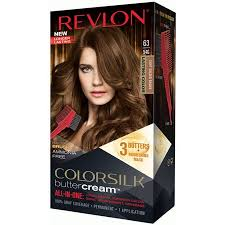 Revlon Luxurious Colorsilk Buttercream Hair Color 126.8ml 63 Light Golden Brown