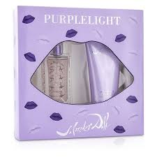 Salvador Dali Purple Light Gift Set 30ml EDT 100ml Body Lotion