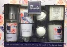 Taylor of London Panache Gift Set 75ml EDT 75ml Hand Cream 50g Soap 60g Candle 2 x 20g Bath Bomb