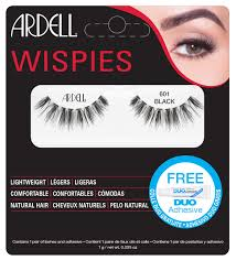 Ardell Wispies Clusters False Eyelashes 601 Black