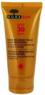 Nuxe Sun Delicious Cream For Face High Protection SPF30 50ml