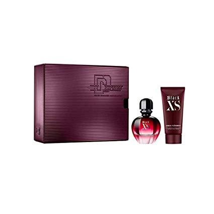 Paco Rabanne Black XS Gift Set 50ml EDP 75ml Body Lotion