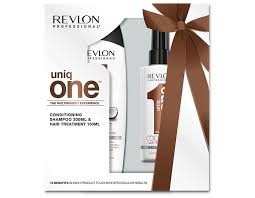 Revlon Uniq One Gift Set 150ml Classic Treatment 150ml Coconut Treatment