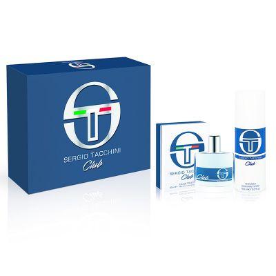 Sergio Tacchini Club Gift Set 50ml EDT 150ml Deodorant Spray