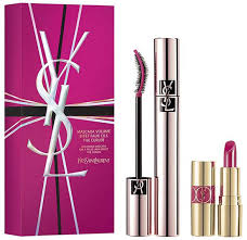 Yves Saint Laurent Luxurious Mascara Gift Set 7.5ml Mascara 8ml Eye Make Up Remover 5ml Moisture Glow