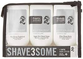 Billy Jealousy Shave3Some Gift Set 3 Pieces