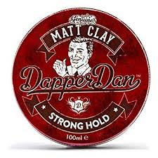 Dapper Dan Matt Clay 100ml Strong Hold