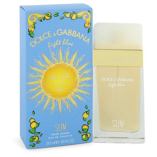 Dolce Gabbana Light Blue Sun pour Femme Eau de Toilette 50ml Spray