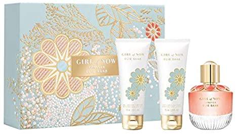 Elie Saab Girl of Now Gift Set 50ml EDP 75ml Body Lotion 75ml Shower Gel