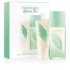 Elizabeth Arden Green Tea Gift Set 100ml EDT 100ml Green Tea Honey Drops Body Cream