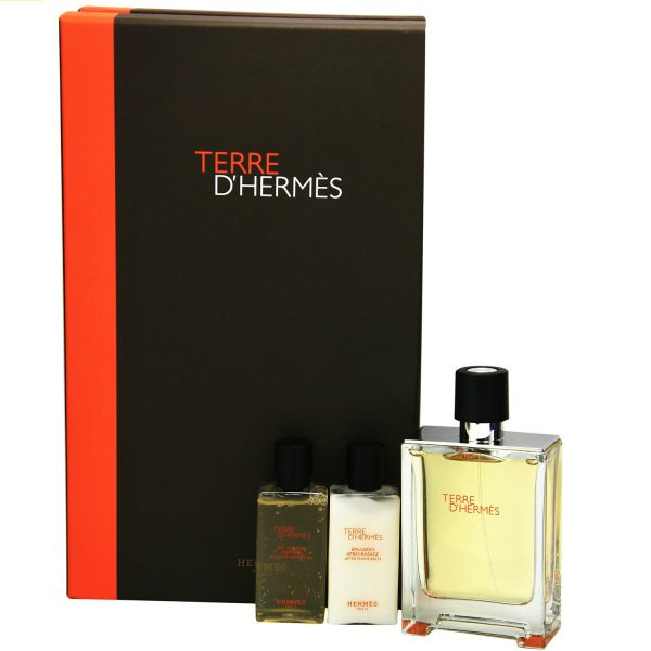 Hermès Terre dHermès Gift Set 50ml EDT 40ml Shower Gel
