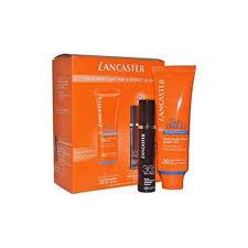Lancaster Perfect Glow Gift Set 50ml Sun Cream SPF 30 10ml 365 Skin Repair Serum