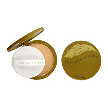 Mayfair Feather Finish Compact Powder with Mirror 10g 08 Misty Beige