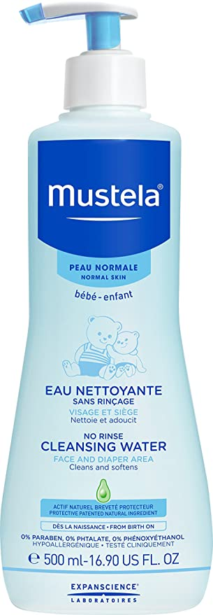 Mustela Bebe No Rinse Cleansing Water 300ml