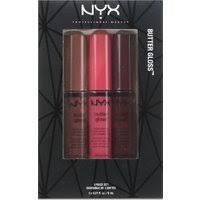 NYX Intense Butter Lip Gloss 3x8ml Set 10