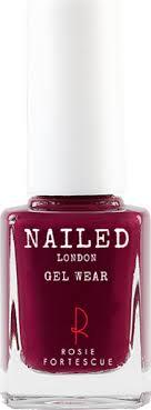Nailed London Gel Wear Nail Polish 10ml Berry