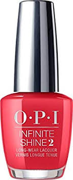 OPI Infinite Shine Nail Polish 15ml Unrepentantly Red