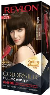 Revlon Luxurious Colorsilk Buttercream Hair Color 126.8ml 40 30N Dark Brown