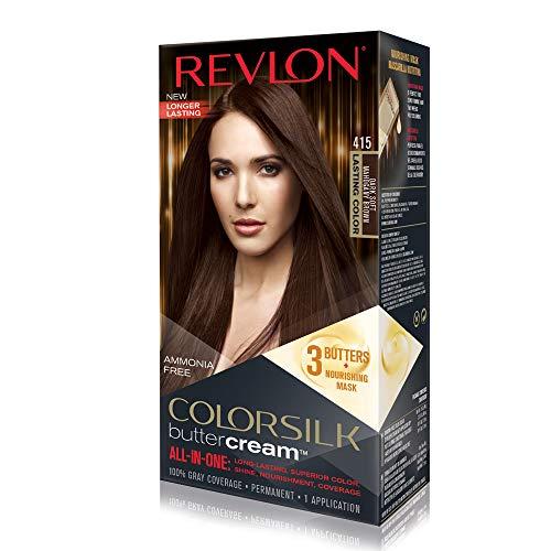 Revlon Luxurious Colorsilk Buttercream Hair Color 126.8ml 415 Dark Soft Mahogany Brown