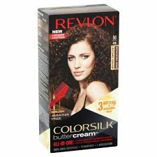 Revlon Luxurious Colorsilk Buttercream Hair Color 126.8ml 50 41N Medium Natural Brown