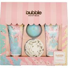 Style Grace Bubble Boutique Gift of The Glow Gift Set 4 Pieces