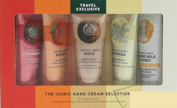 The Body Shop G3 Gtr Core Hand Cream Gift Set 5 Pieces