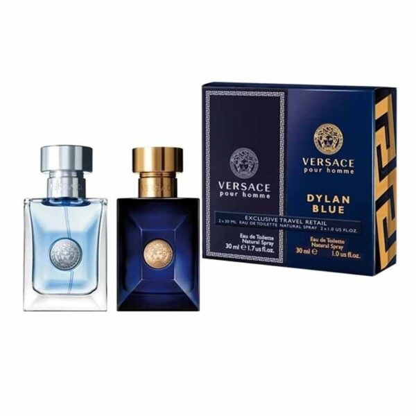 Versace Homme Gift Set 30ml Pour Homme EDT 30ml Pour Homme Dylan Blue