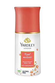 Yardley Royal Bouquet Deodorant Roll On 50ml