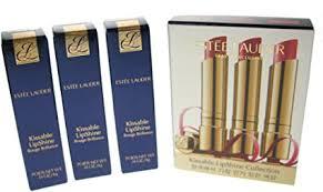 Estée Lauder Kissable Lip Shine Collection Set 3 x 4g Lipsticks