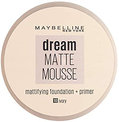 Maybelline Dream Matte Mousse Foundation 18ml 010 Ivory