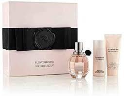 Viktor Rolf FlowerBomb Gift Set 30ml EDP 50ml Body Lotion 50ml Shower Gel