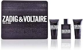 Zadig Voltaire This is Him Gift Set 50ml EDT 75ml Shower Gel