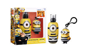 Minions Gift Set 50ml EDT Goggles Key Ring
