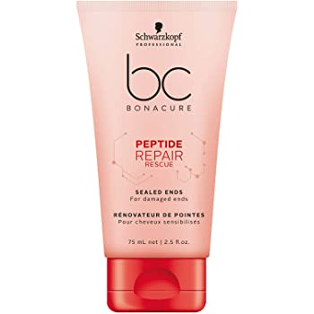 Schwarzkopf BC Bonacure Peptide Repair Rescue Sealed Ends Hair Serum 75ml