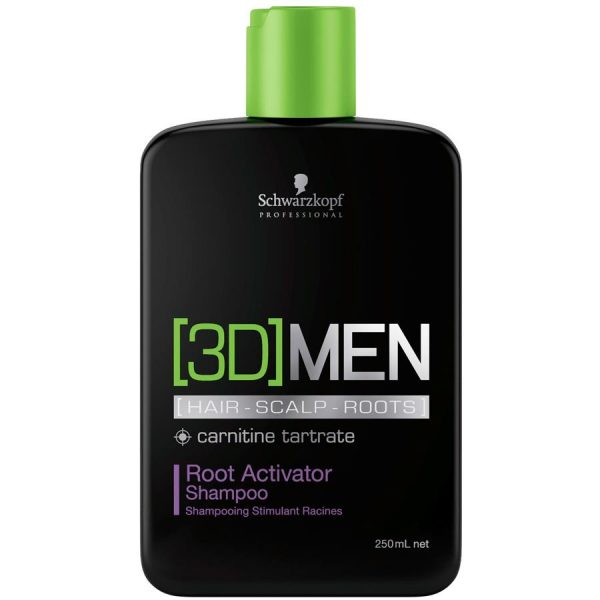 Schwarzkopf Professional 3D Men Root Activator Shampoo 1000ml