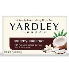 Yardley Creamy Coconut Soap 120g 1