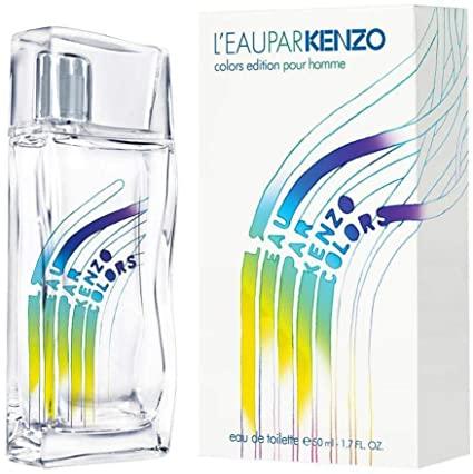Kenzo LEau Par Kenzo Colors Pour Homme Eau de Toilette 50ml Spray