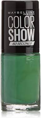 Maybelline Color Show Nail Polish 7ml Faux Green