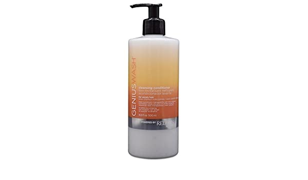 Redken Genius Wash Cleansing Conditioner 500ml For Unruly Hair