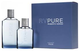 Robert Verino RV Pure Man Icy Gift Set 150ml Eau de Toilette 75ml Eau de Toilette