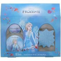 Disney Frozen Elsa Gift Set 50ml EDT 3D Soap 50g