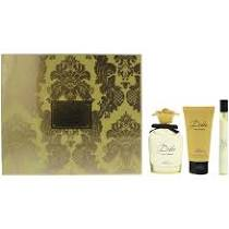 Dolce Gabbana Dolce Shine Gift Set 75ml EDP 50ml Body Lotion 10ml EDP