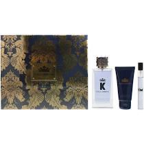 Dolce Gabbana K Gift Set 100ml EDT 10ml EDT 50ml Aftershave Balm
