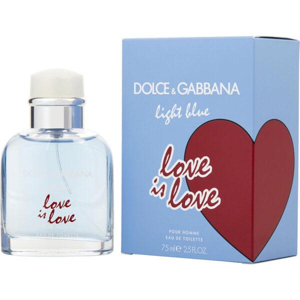 Dolce Gabbana Light Blue Love is Love for Men Eau de Toilette 75ml Spray