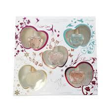 Jeanne Arthes Amore Mio Miniature Gift Set 5 Pieces 1 x 7ml Amore Mio EDP 1 x 7ml White Pearl EDP 1 x 7ml Passion EDP 1 x 7ml I Love You EDP 1 x 7ml Forever EDP