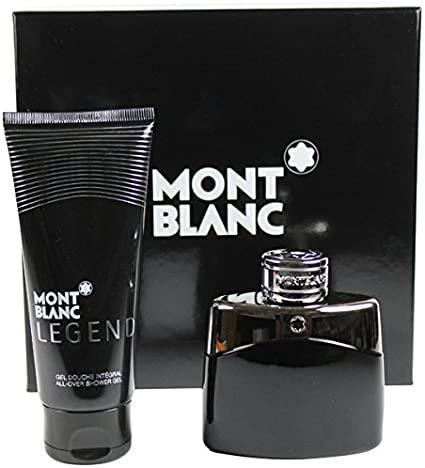Mont Blanc Legend Gift Set 50ml EDT 100ml Shower Gel