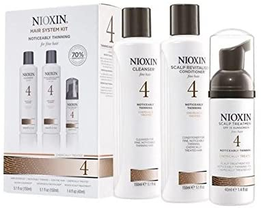 Nioxin Hair System Kit 4 Gift Set 3 Pieces