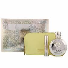 Versace Eros Pour Femme Gift Set 100ml EDT 10ml EDT Pouch