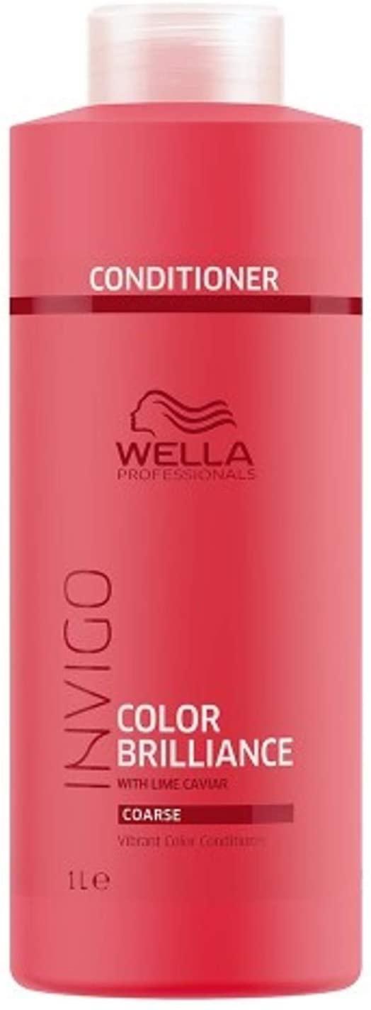 Wella Professionals Invigo Color Brilliance Conditioner 1000ml For Coarse Hair